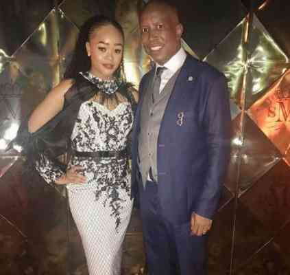 Julius Malema Thanks Her Wife For Perfect Love