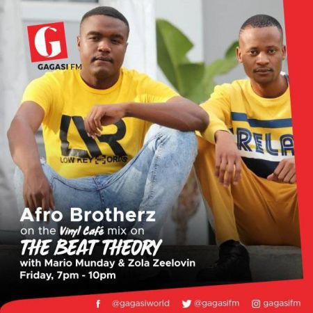 Afro Brotherz – Vinyl Cafe Mix (Gagasi FM) mp3 download