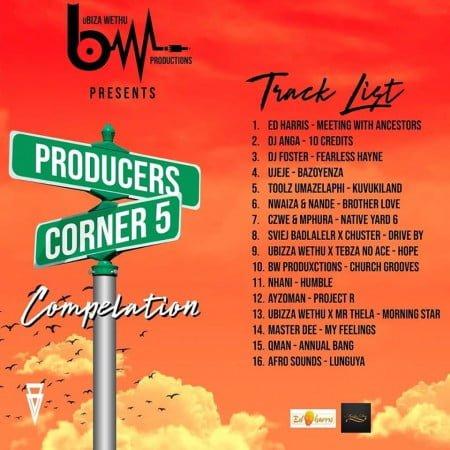 uBiza Wethu - Producers Corner 5 (Compilation) Album zip mp3 download
